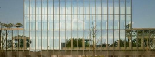 Glazed facade